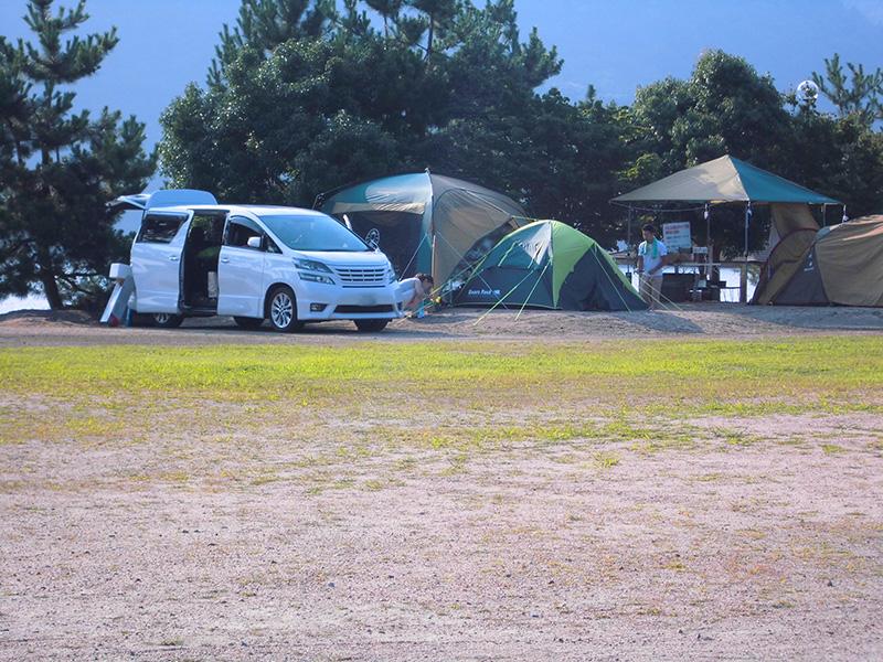 オートキャンプ場(電源有)